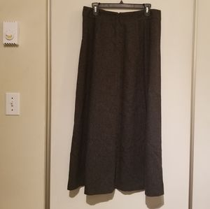 Eddie Bauers 12 Vintage Charcoal Wool